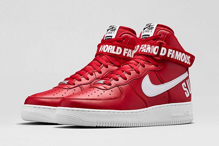 Supreme X Nike Air Force 1 Release Date 1