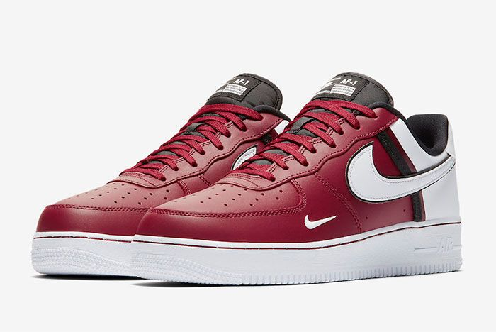 Nike Air Froce 1 Low 07 Lv8 Red Toe