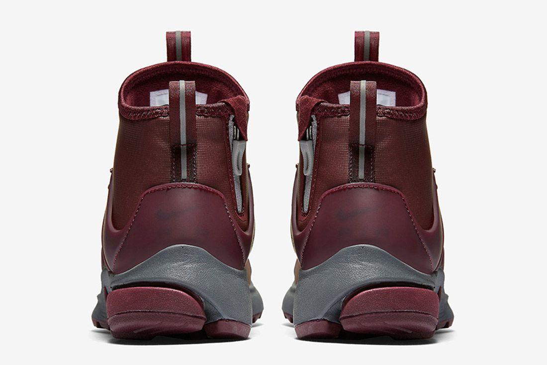 Nike Air Presto Mid Utility Burgundy 4