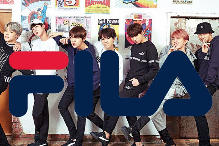 Bts Fila Group Photo
