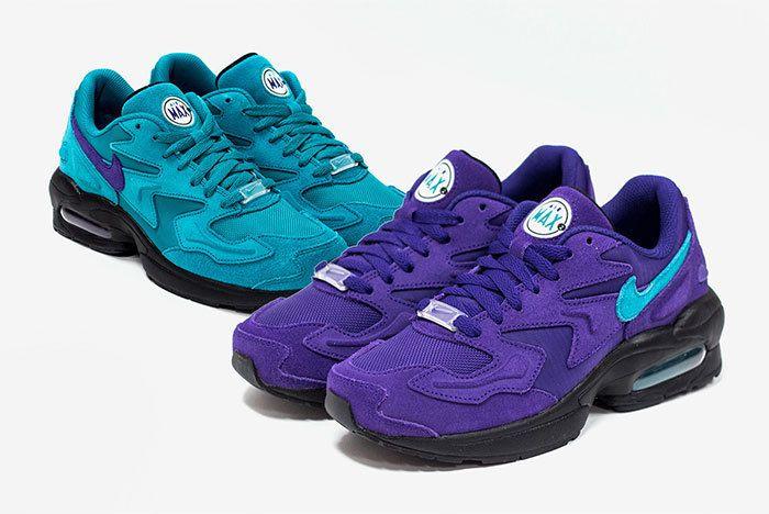Nike Air Max 2 Light Hornets Pack