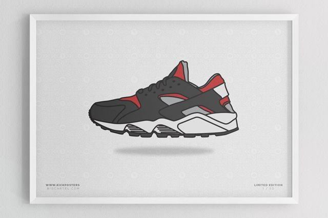 Sneaker Prints Huarache