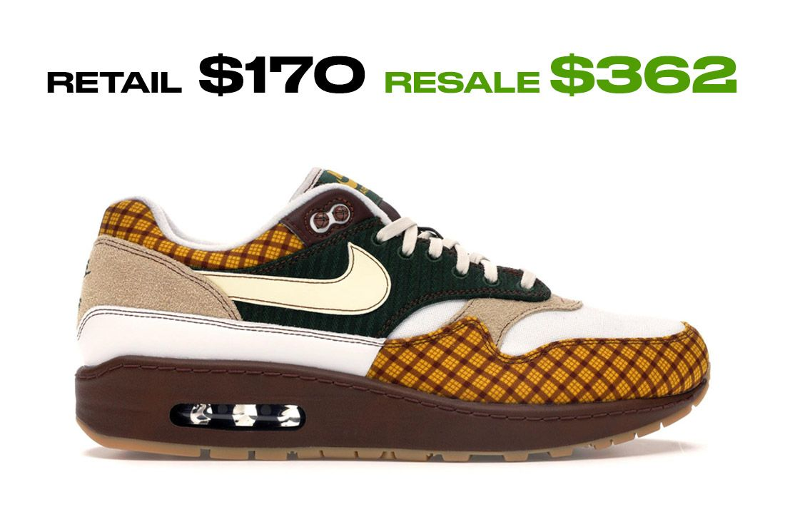 Stockx Resale Nike Air Max 1 Susan Right Side Shot