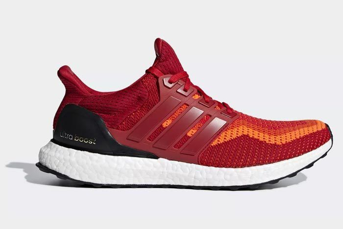 Adidas Ultraboost 2 0 Red 1