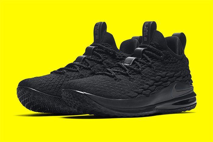 Nike Le Bron 15 Black 2