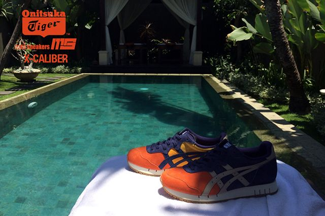 Mita Sneakers Onitsuka Tiger X Caliber Tequila Sunrise 5