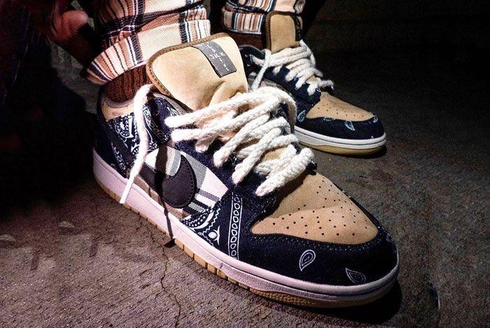 Travis Scott Nike Sb Low Toe