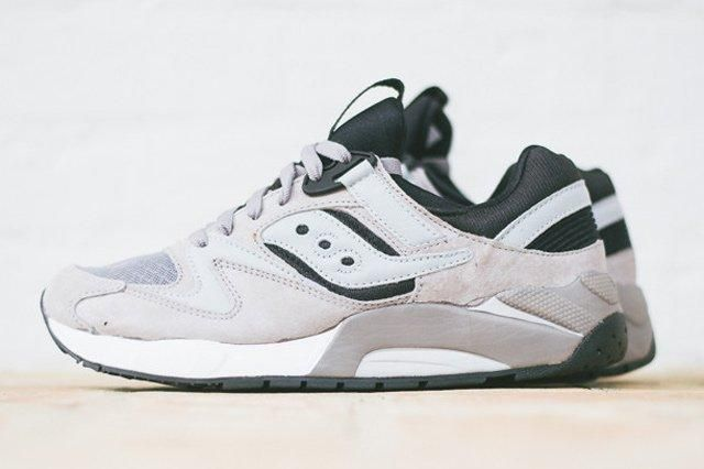 Saucony Grid 9000 Grey Black