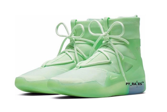 Nike Air Fear Of God 1 Spruce Frosted Quarter