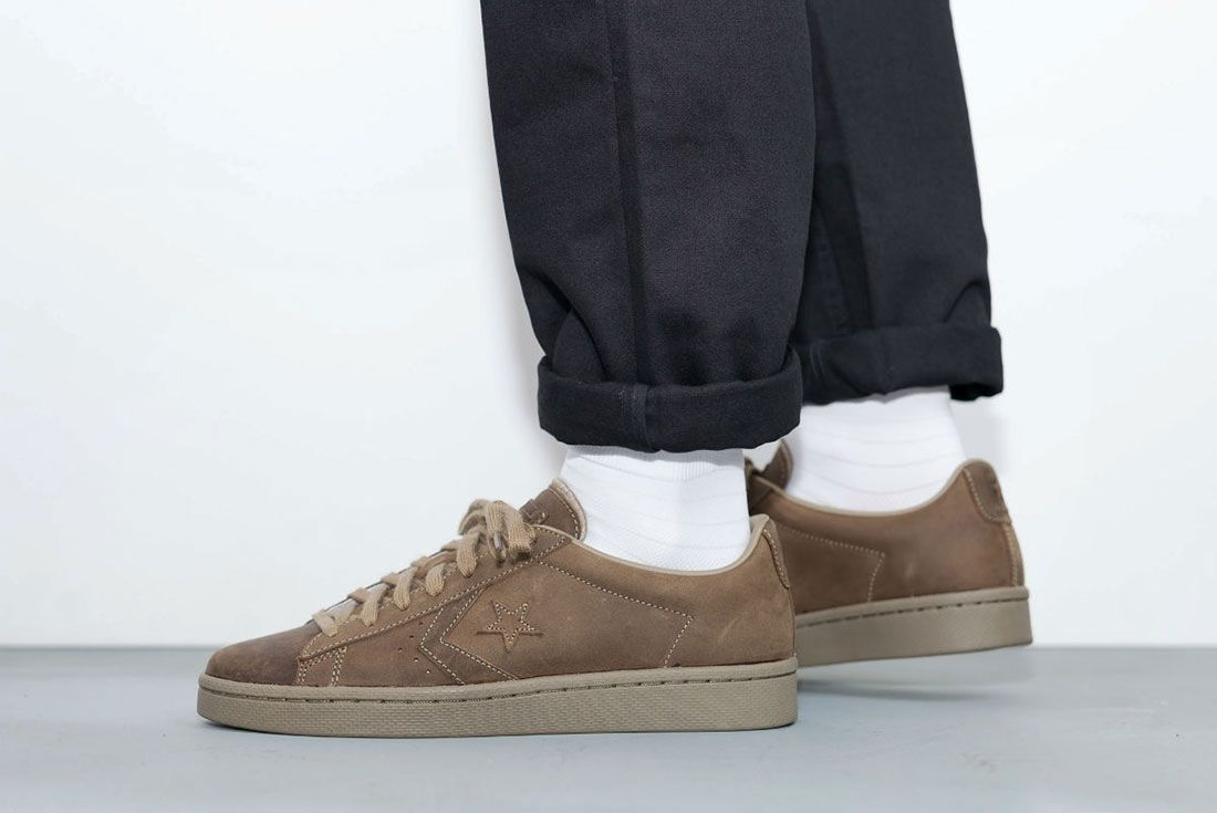 Converse Cons Pro Leather 76 Ox ' Autumn Mono' Pack 3