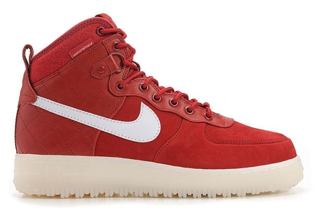 Nike Air Force 1 Duckboot Red 1