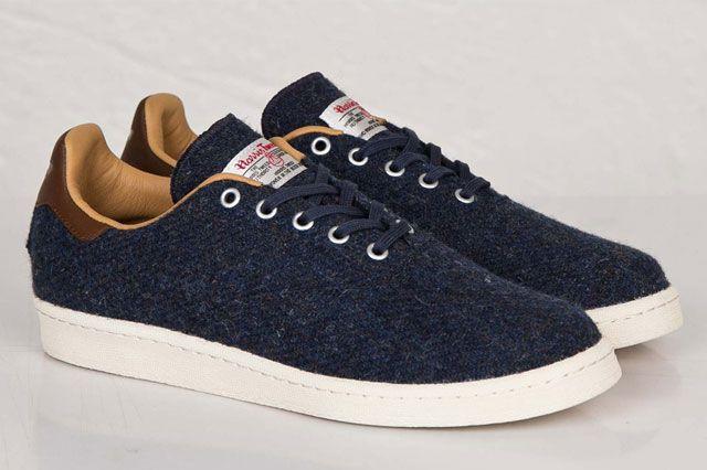 Adidas 84 Lab X Mark Mcnairy Harris Tweed 1