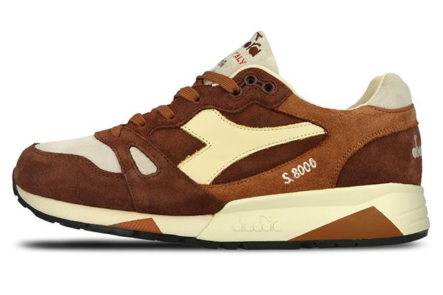 Diadora S8000 S Ita Made In Italy Brown3