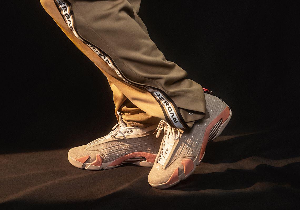 CLOT x Air Jordan 14 Low 'Terracotta'