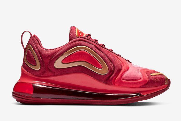 Nike Air Max 720 Team Crimson Right