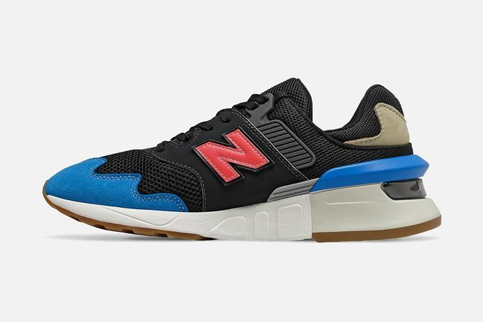New Balance 997S Neo Classic Blue Medial