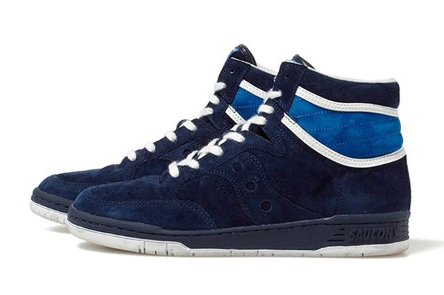 White Mountaineering Saucony Suede Sneakers 11
