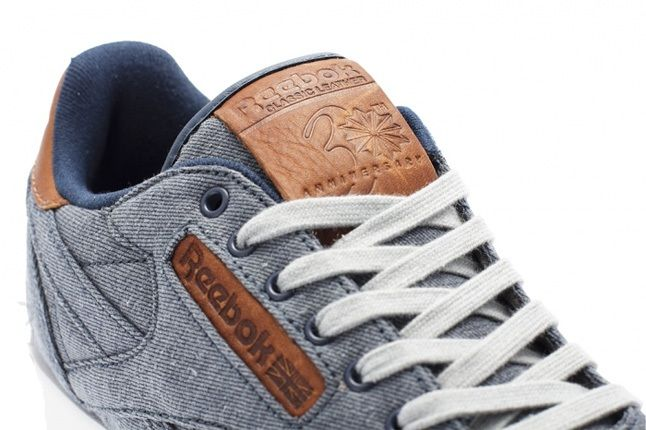 Reebok Classic Leather Salvaged Denim 2
