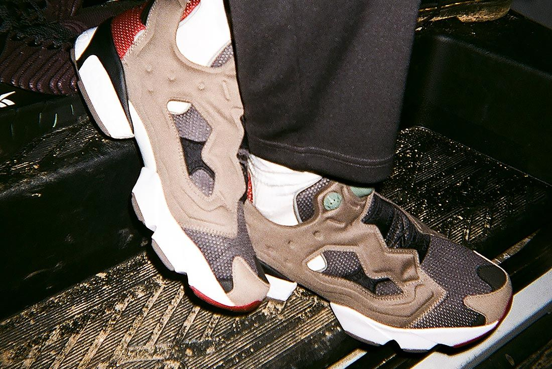 Reebok eightyone InstaPump Fury On Foot