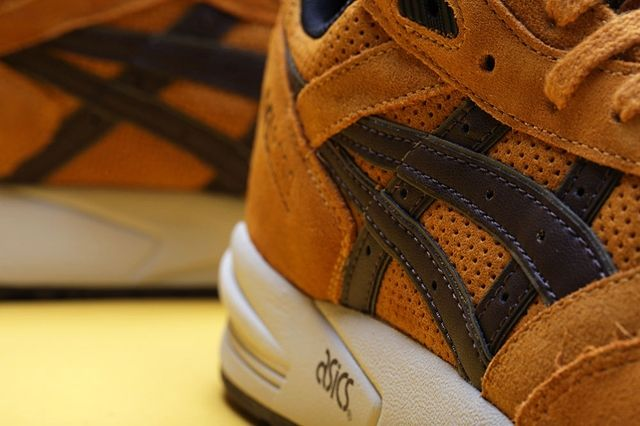 Asics Gel Saga Tan Brown Bump 2