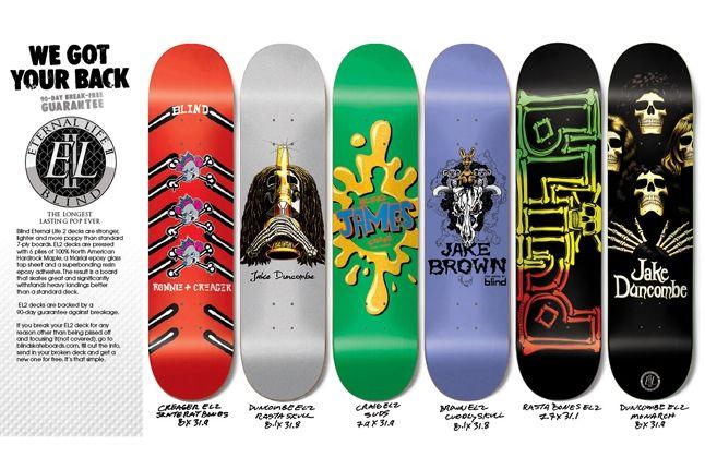 Blind Skateboard Decks Holiday 12 1