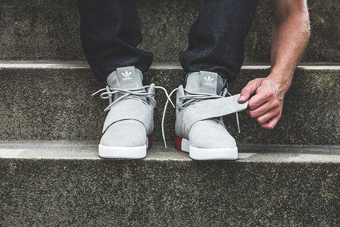 Adidas Tubular Invader Strap Foot Shot On Feet 2