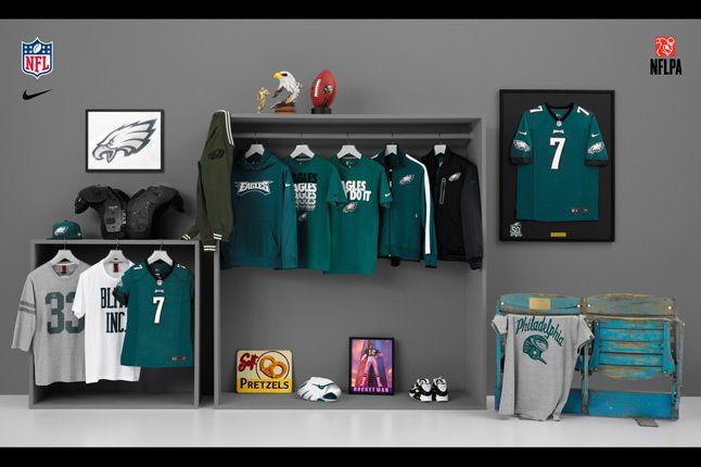 Nike Nfl Fanwear Phi Eagles 2012 1