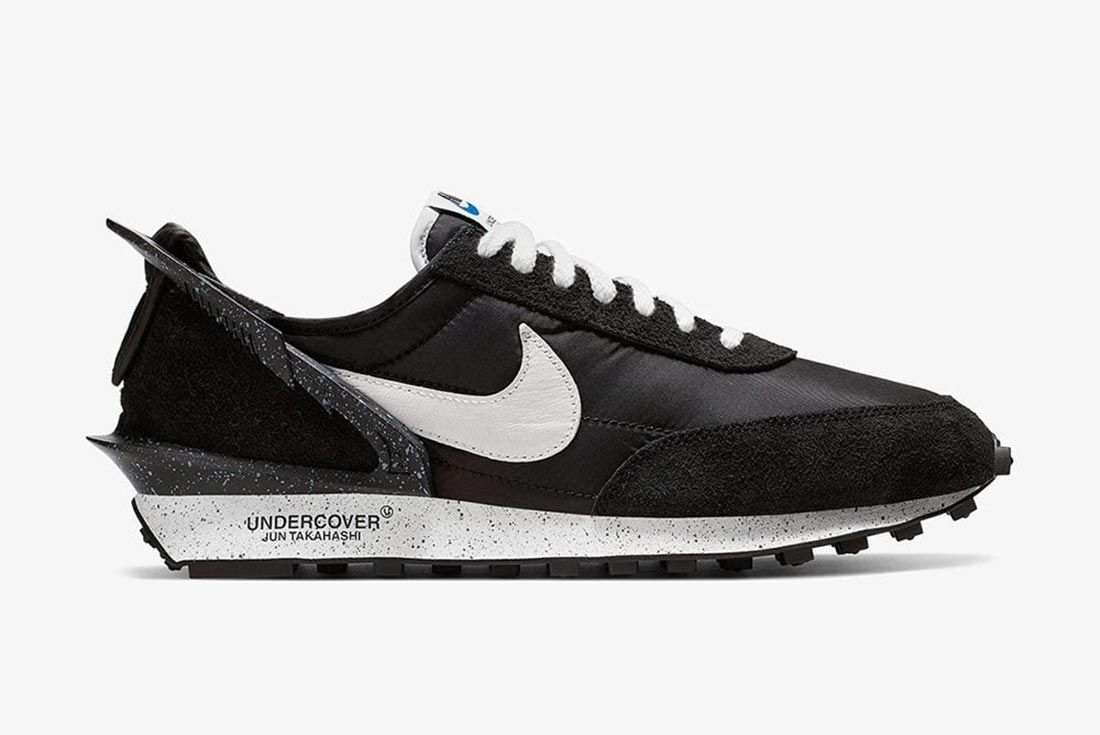 Nike X Undercover Black Daybreak Lateral Side Shot