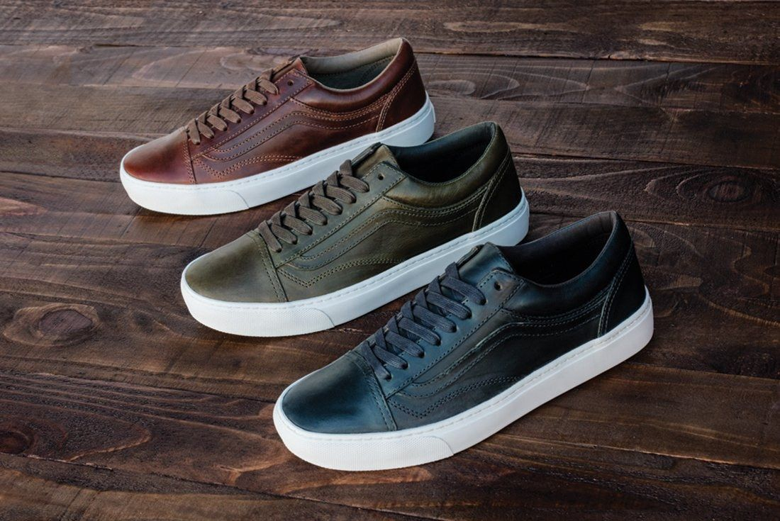 Horween Leather X Vans Vault Collection30