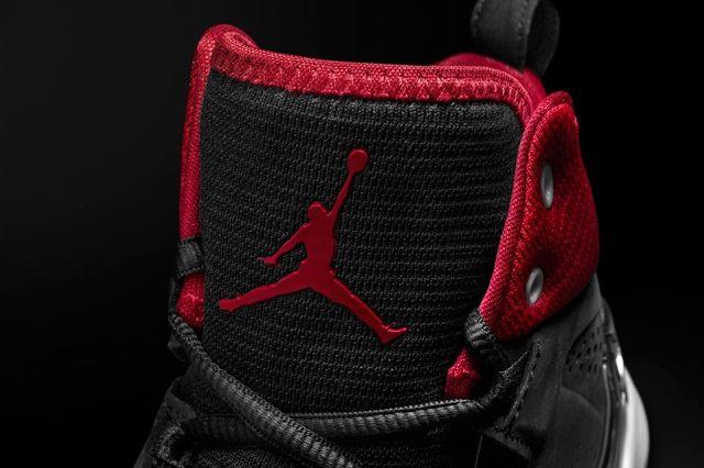 Air Jordan Melo 10 Red Black Tongue