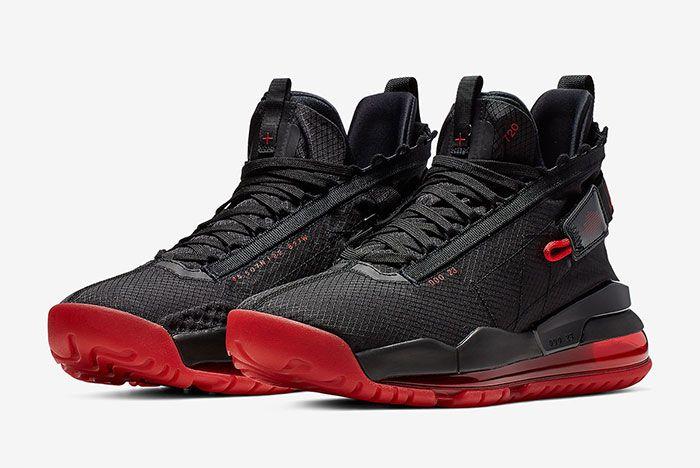Jordan Proto Max 720 Black Red Side 1