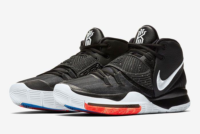 Nike Kyrie 6 Black Bq4630 001 Release Info 1 Pair