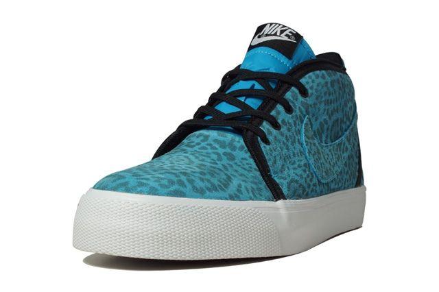 Nike Fb Leopard Toki Blue T