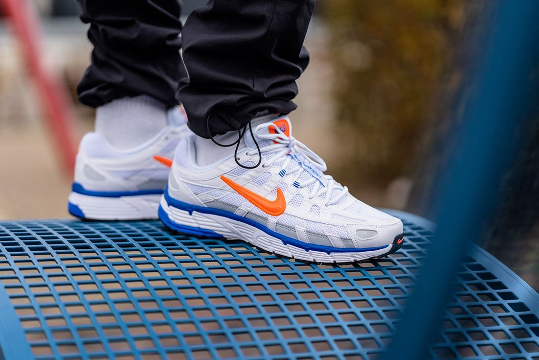 Nike P 6000 Hyper Crimson Ct3439 100 On Foot Lateral Side Shot