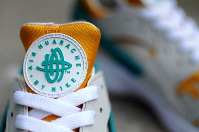 Nike Air Huarache Tealgold4