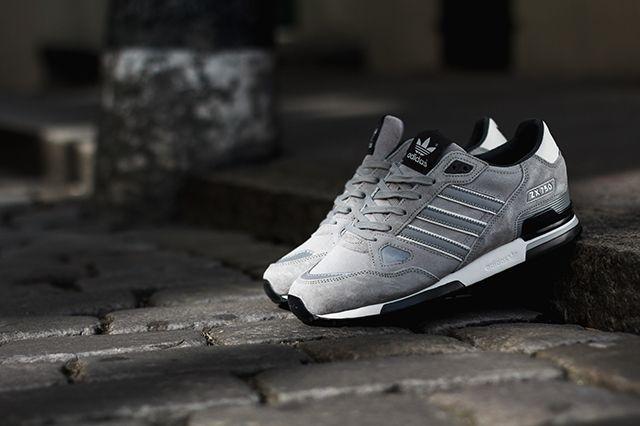 Adidas Zx750 Solid Grey 2