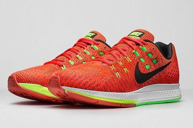 Nike Zoom Structure 19 Bright Crimson Volt 7