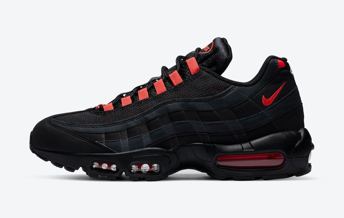 Nike Air Max 95 Laser Crimson Left