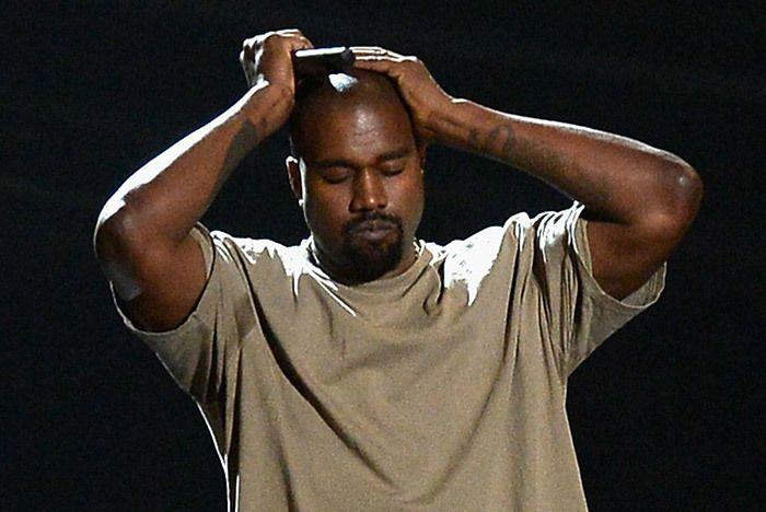 Kanye West Upset