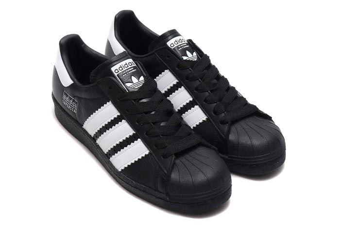 Adidas Superstar 80S Black 3
