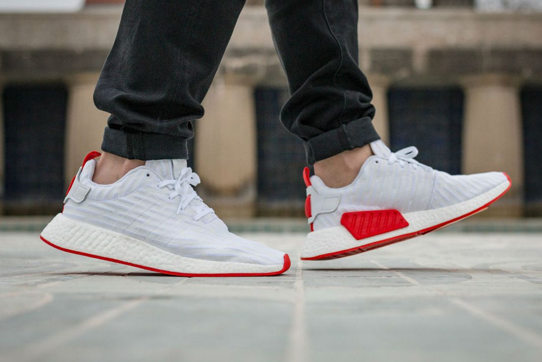 Adidas Nmd R2 Red Sole3
