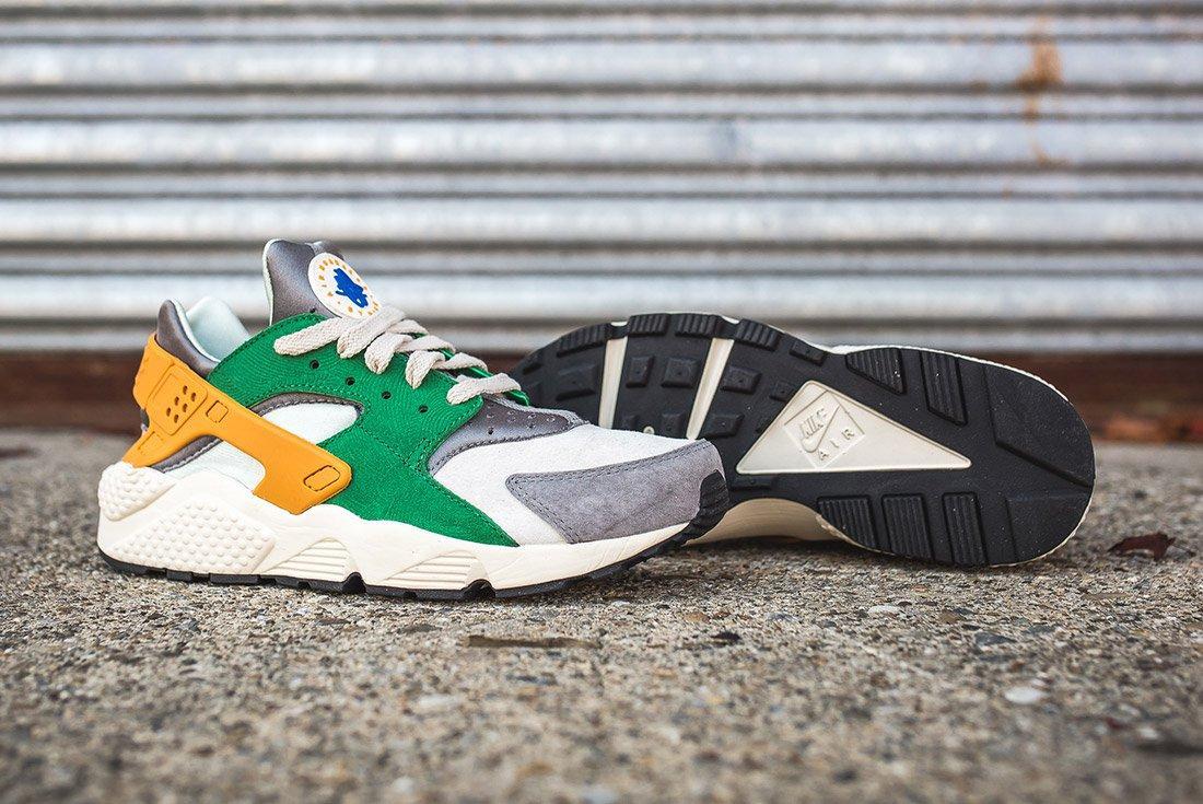 Nike Air Huarache Se Pine Green Gold Leaf10