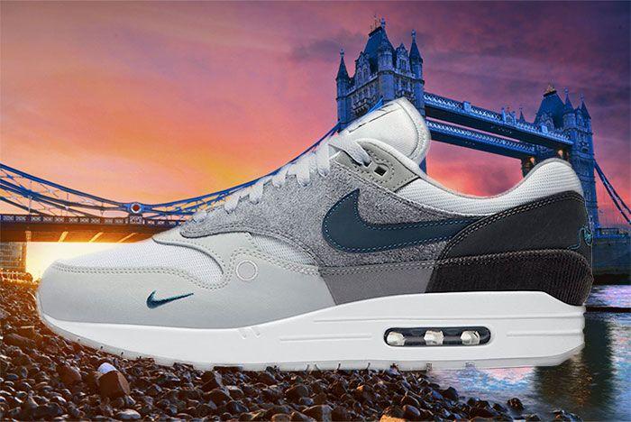 Nike Air Max 1 London Cv1639 001 Lateral