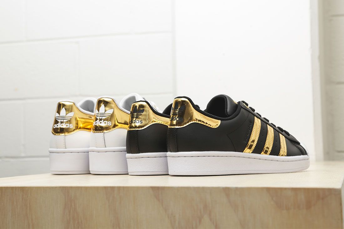 Adidas Metallic Gold Pack Superstar 50Th Anniversary Jd Sports Exclusive Hero3