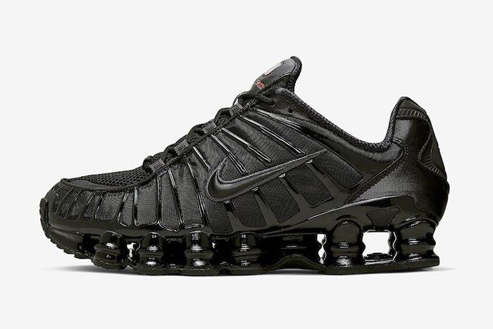 Nike Shox Tl Black Metallic Hematite Av3595 002 Release Date Lateral