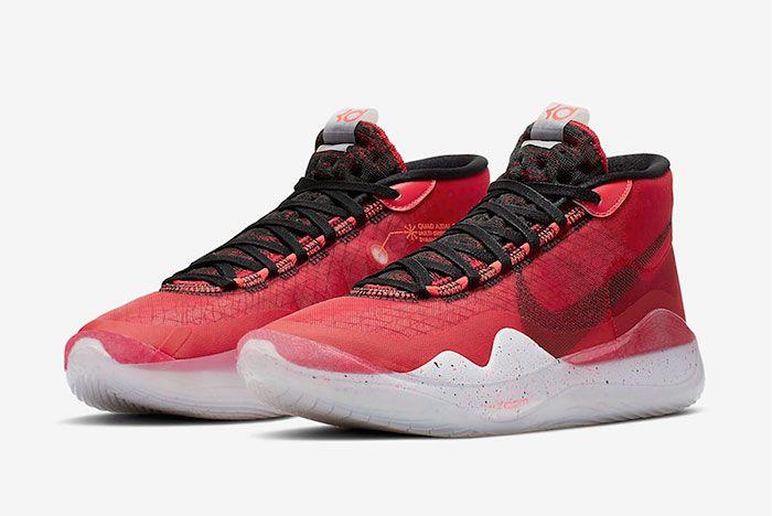 Nike Kd 12 University Red Ar4230 600 Release Date 4 Pair