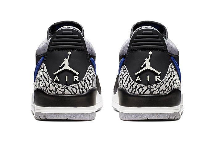 Jordan Legacy 312 Low Royal Cd7069 041 Release Date Heel