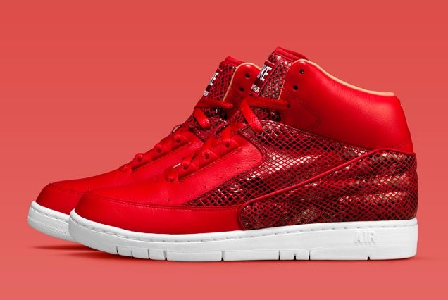 Nike Air Python Lux Red Profile
