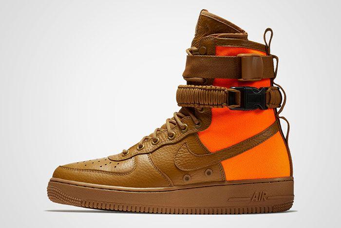 Nike Sf Air Force 1 Desert Ochre Brown Orange Thumb