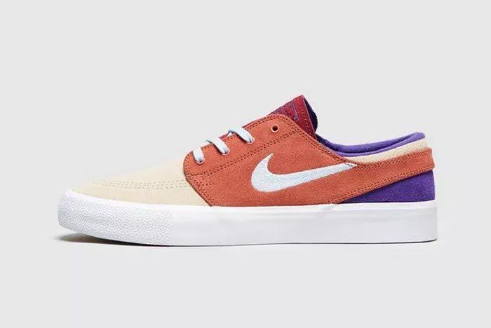 Nike Sb Zoom Stefan Janoski Orange Lateral